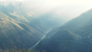 (Ma Pi Leng mountain pass""